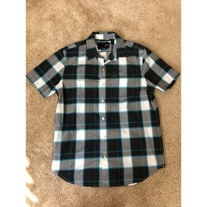 Hurley Short-Sleeve Button-Up